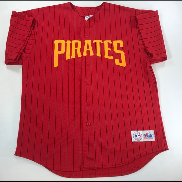 9da757642 Majestic Other - Men Vintage MAJESTIC Pittsburgh Pirates Jersey